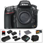 Nikon Nikon D800 Digital SLR Camera Body Deluxe Kit
