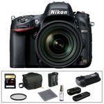 Nikon D600 Digital Camera with 24-85mm f/3.5-4.5G ED VR Lens & Accessory Kit