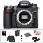 Nikon D7000 Digital SLR Camera Body with Basic Accessory Kit