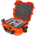 Nanuk 905-2003 Case with Padded Divider (Orange)