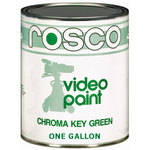 Rosco Chroma Key Paint, Green - 1 Gallon (3.8 L)