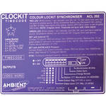Ambient Recording CLOCKIT LABLE PURPLE FOR ACL-202C