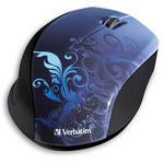 Verbatim Wireless Optical Design Mouse (Blue Design)