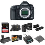 Canon EOS 5D Mark III Digital Camera (Body Only) Deluxe Accessory Kit