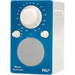 Tivoli PAL BT Bluetooth Portable Radio Blue / White