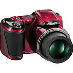 Nikon COOLPIX L820 Digital Camera (Red)