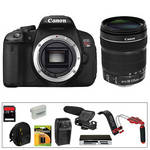 Canon EOS Rebel T4i Digital Camera Kit with 18-135mm STM Lens and Video Accessories