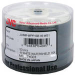 JVC DVD-R 4.7 GB White Inkjet Recordable Discs (Spindle Pack of 50)