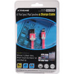 Xtreme Cables 6' Flat USB to Lightning Sync & Charge Cable (Pink)