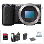 Sony Alpha NEX-5R Mirrorless Digital Camera Body Essential Accessory Kit