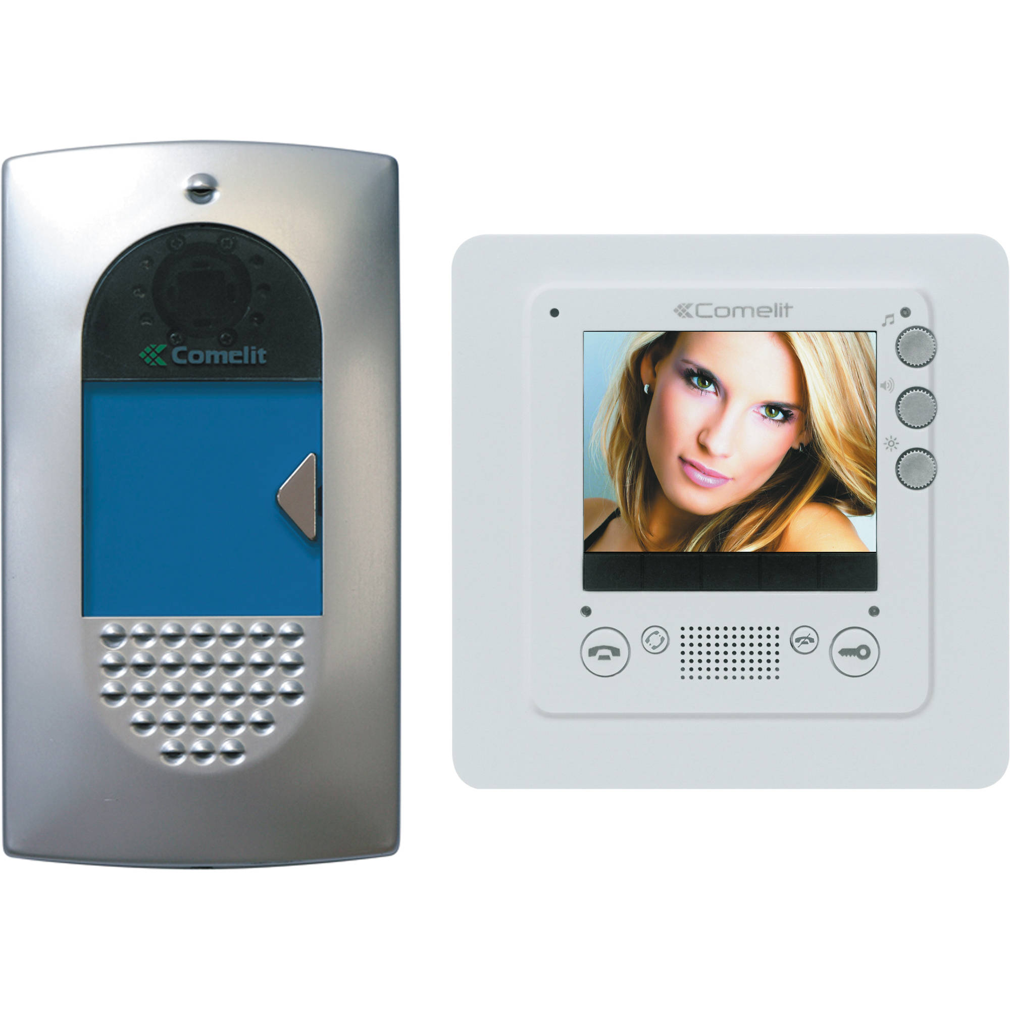 comelit hfx 720m hands free expandable video intercom hfx 720m. Black Bedroom Furniture Sets. Home Design Ideas