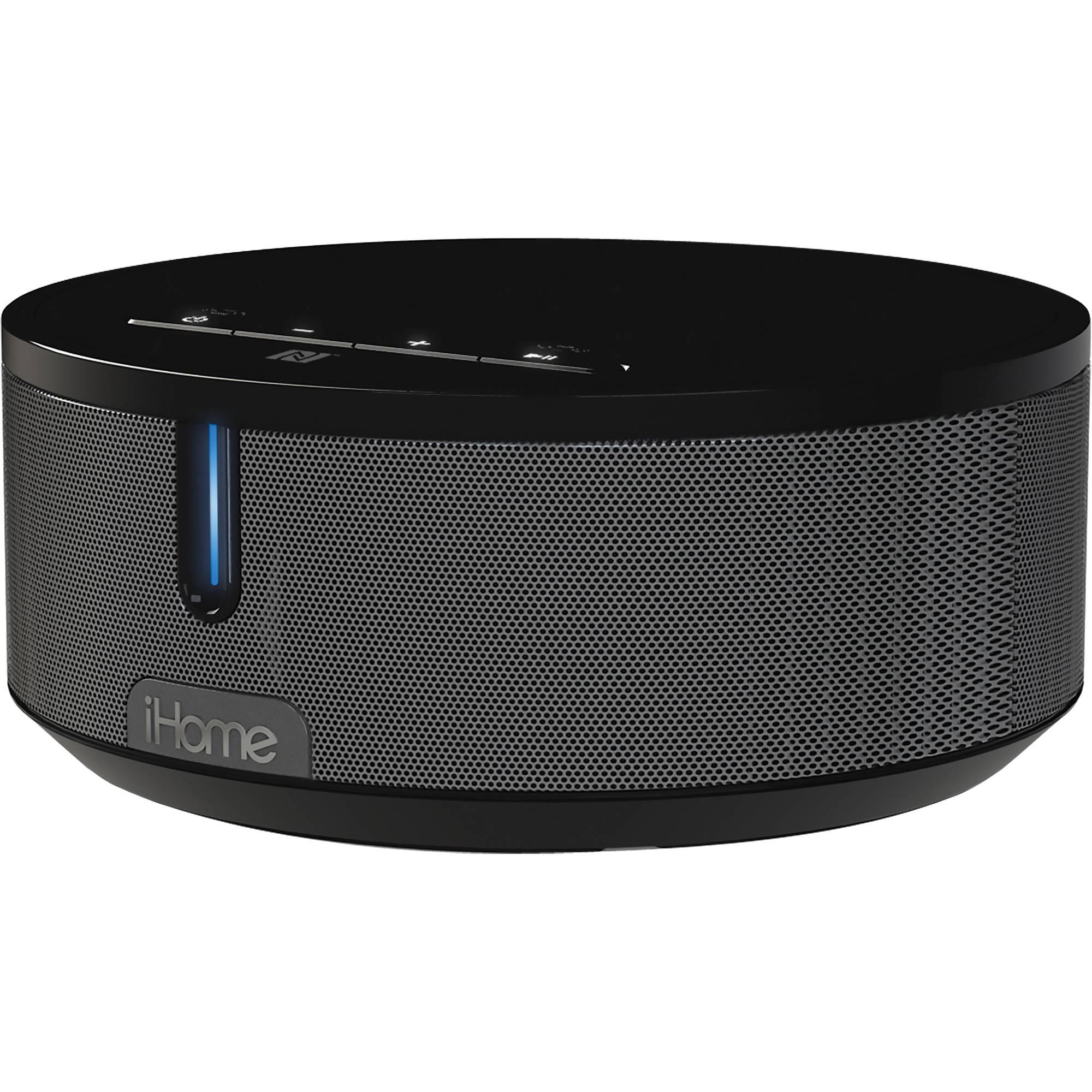Ihome Ibn26 Bluetooth Stereo Speaker System Black
