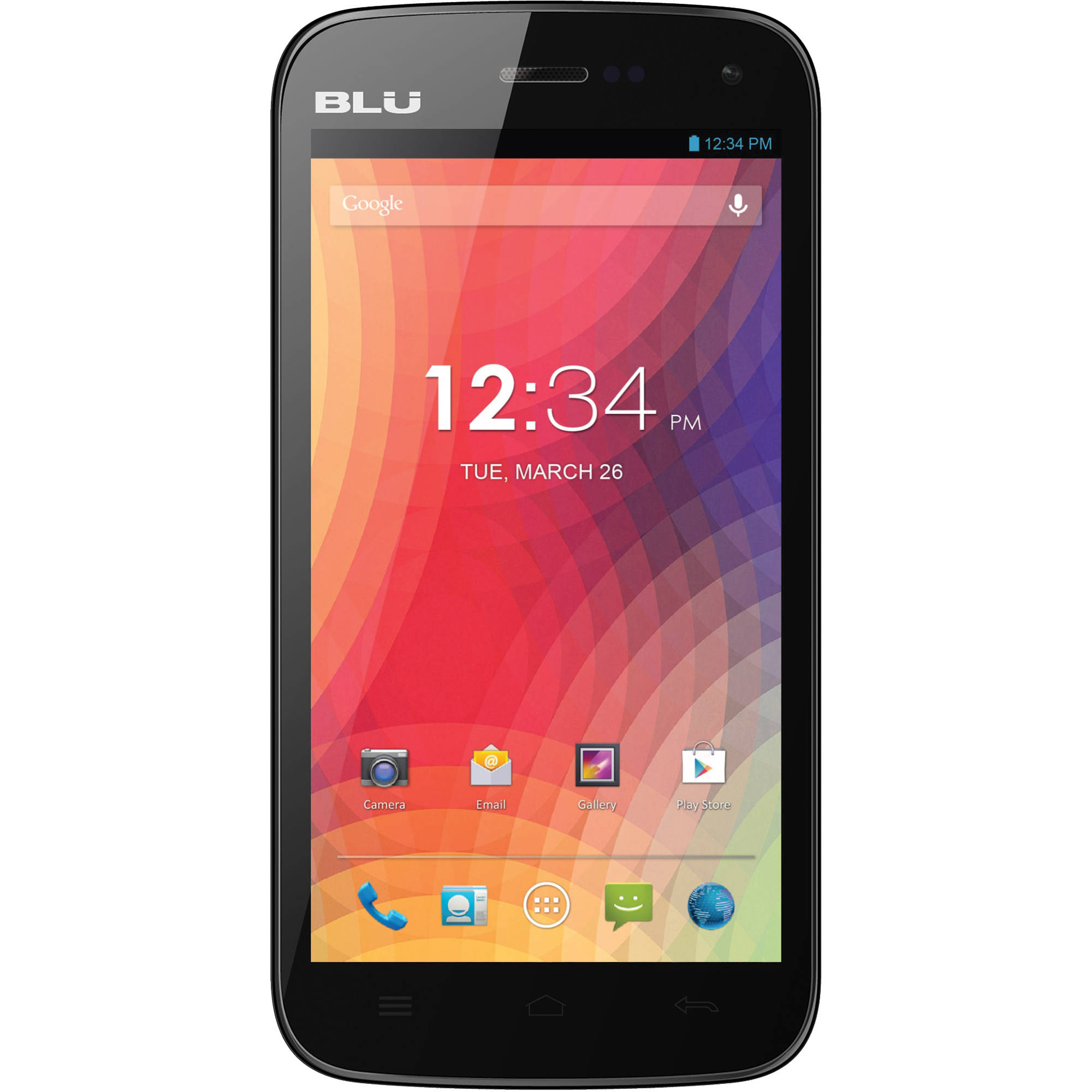 BLU Studio 5.0 II D532U 4GB Smartphone D532U-BLACK B&H Photo