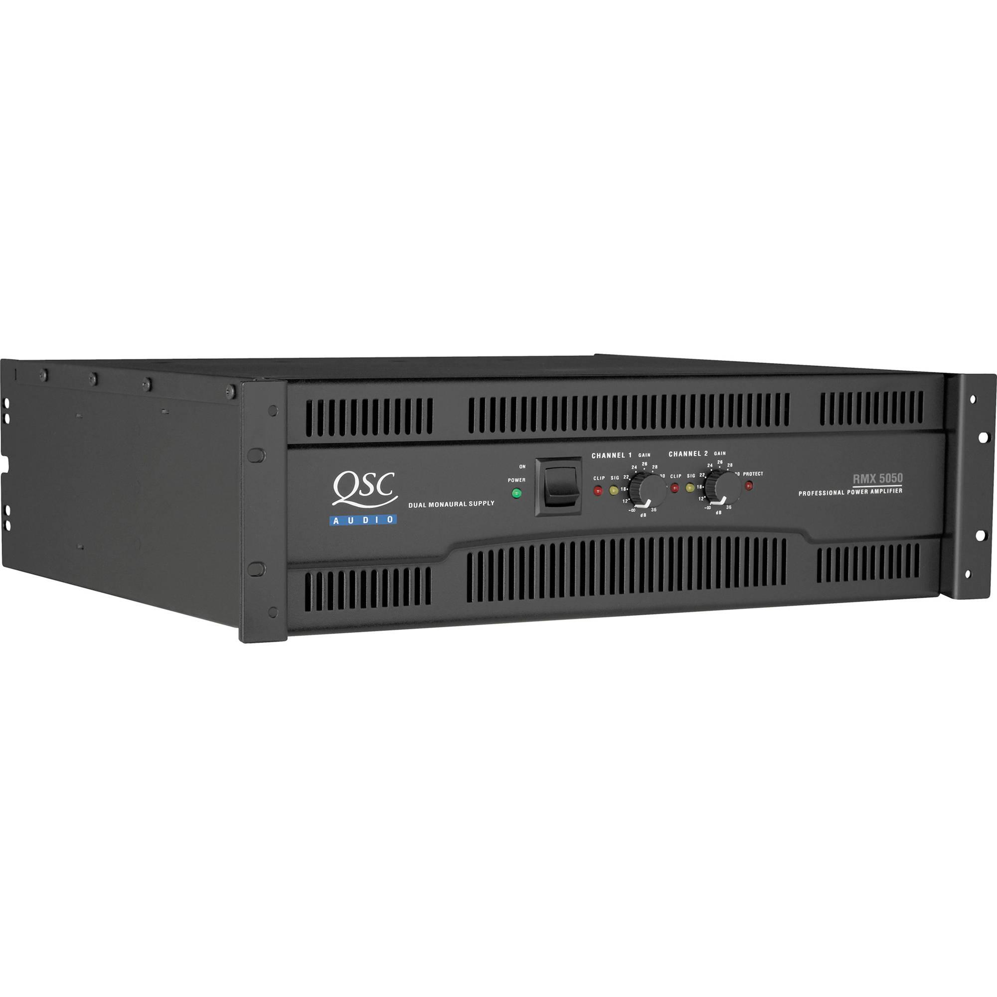 Power Amplifier Qsc 5050 : qsc rmx 5050 2 channel power amplifier rmx5050 b h photo video ~ Vivirlamusica.com Haus und Dekorationen