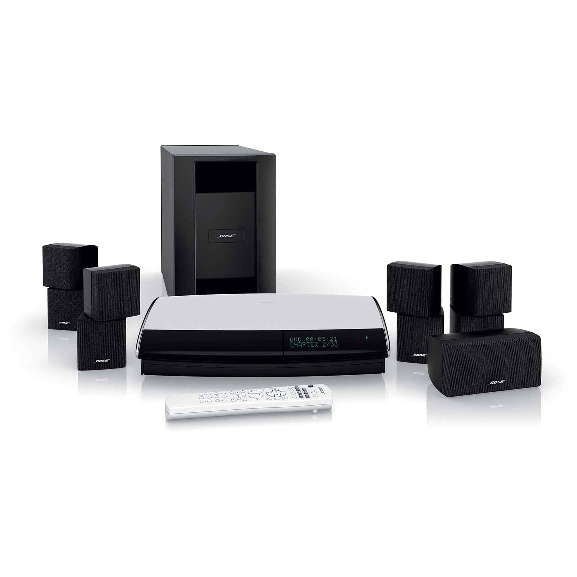 bose lifestyle 28 series iii dvd home entertainment system 40431. Black Bedroom Furniture Sets. Home Design Ideas