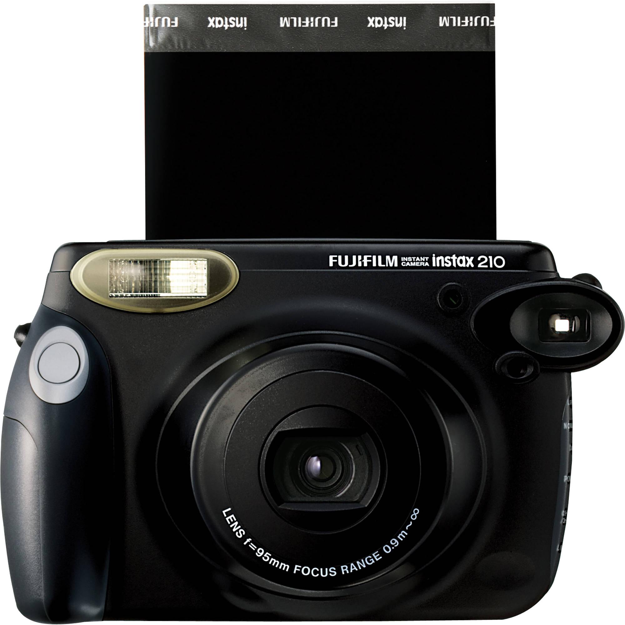 Fuji Camera: Fujifilm Instax 210 Instant Film Camera 15950793 B&H Photo