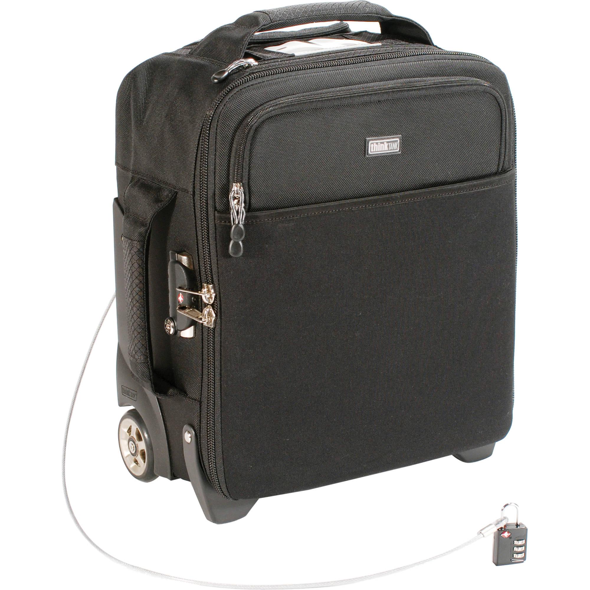 Think Tank Photo Airport Airstream Rolling Camera Bag Black