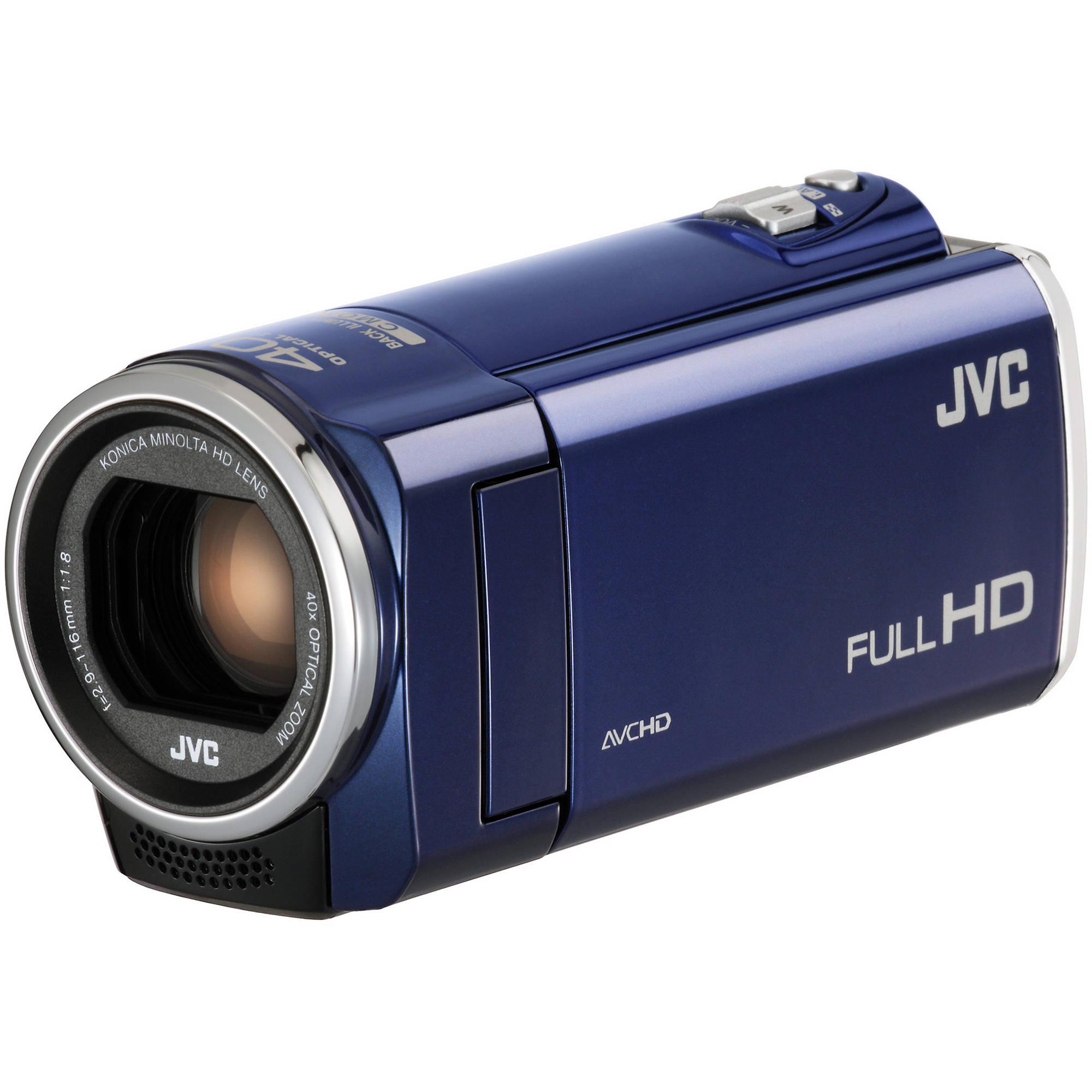 Jvc Gz E100 Full Hd Everio Camcorder Blue Gz E100bl B H