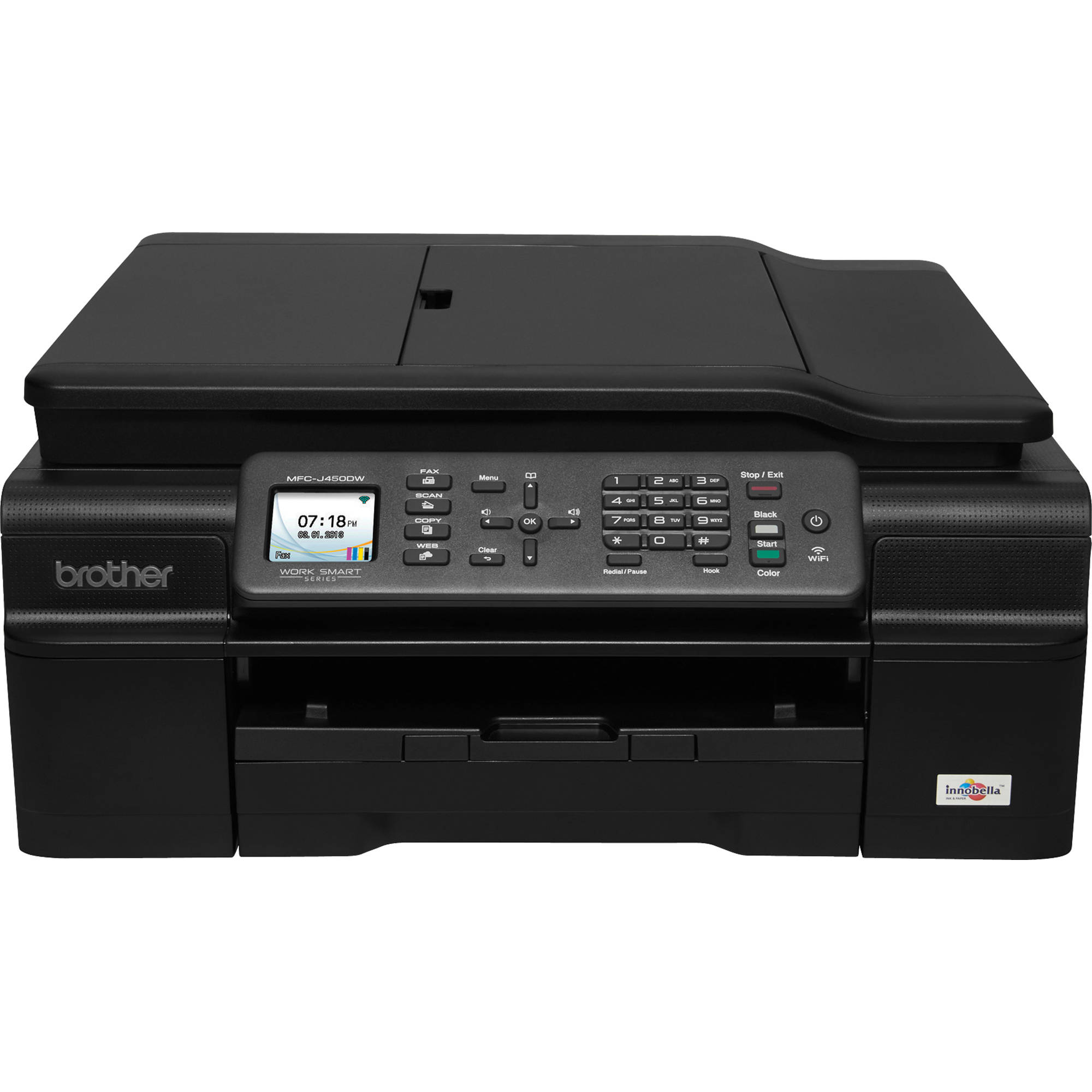 Brother MFC J450dw Wireless Color All In One Inkjet MFC J450DW