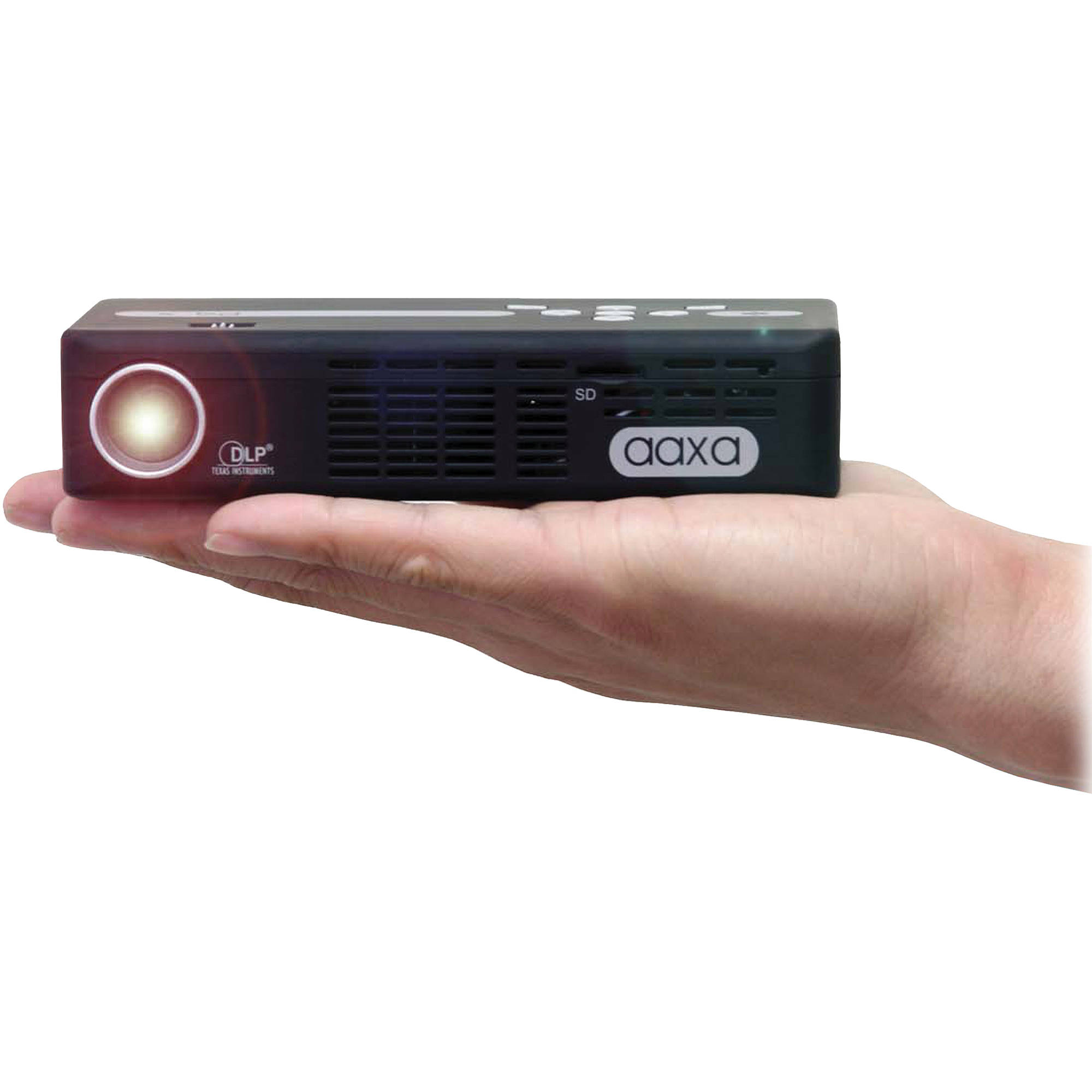 Aaxa technologies p4 x 125 lumen wvga pico projector kp 50002 for Best pico projector 2016