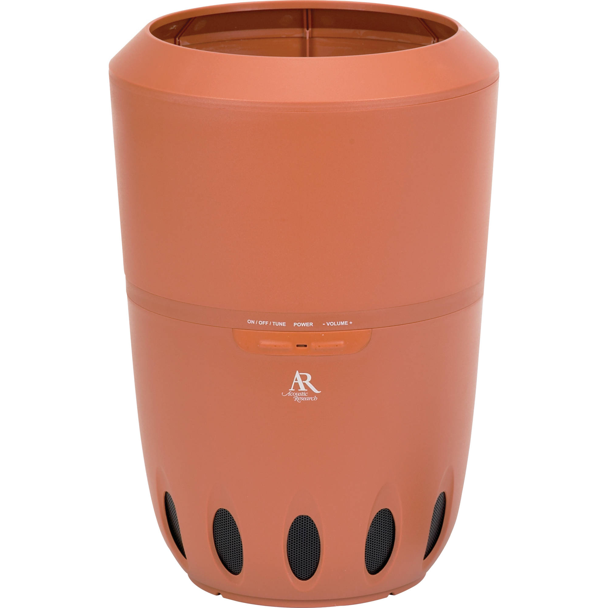 Outdoor Planter Speakers Acoustic research aw828 wireless indooroutdoor speaker aw828 acoustic research aw828 wireless indooroutdoor speaker with planter workwithnaturefo