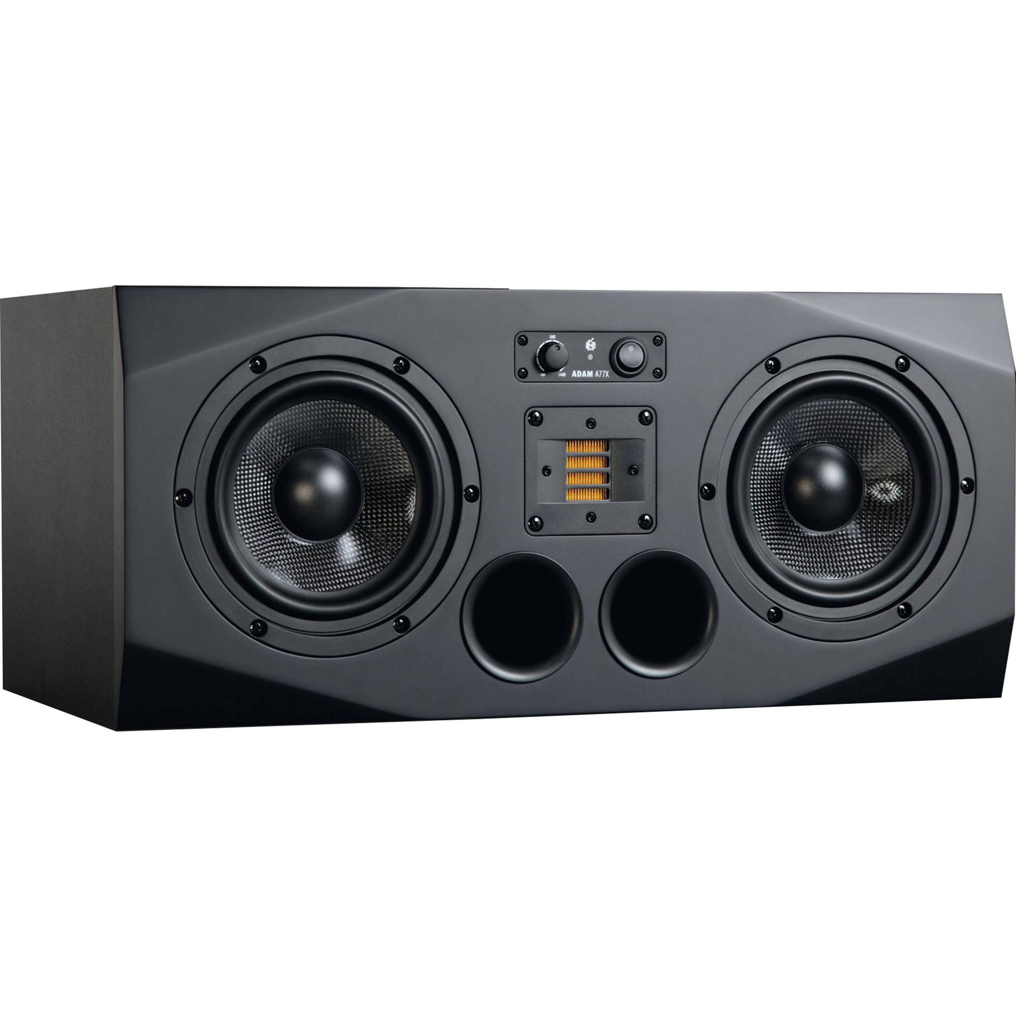 adam professional audio a77xl 3 way active studio monitor a77x a. Black Bedroom Furniture Sets. Home Design Ideas