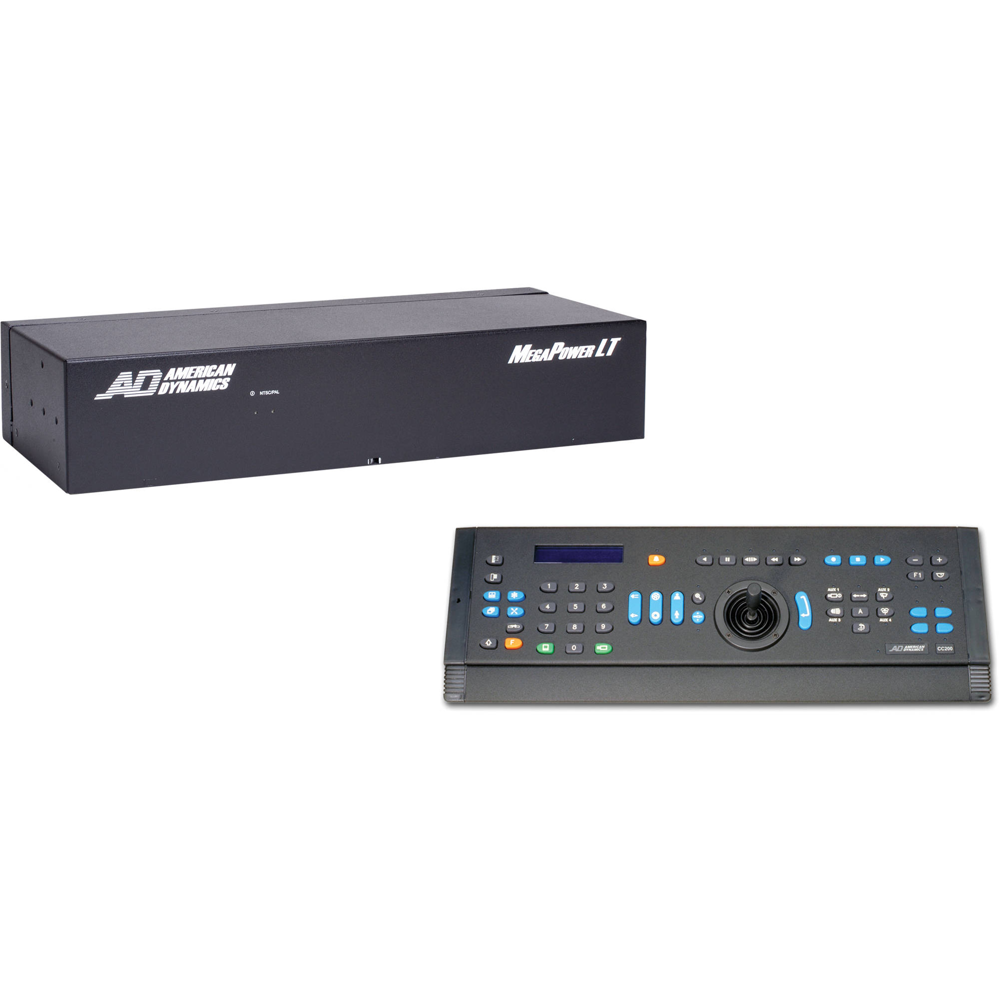 American Dynamics Megapower Lt Matrix Admplt16c2 Bh Photo Video Cat5 Wiring On Av Switches Audio Switch Switcher Controller System 16x4 Cc 200