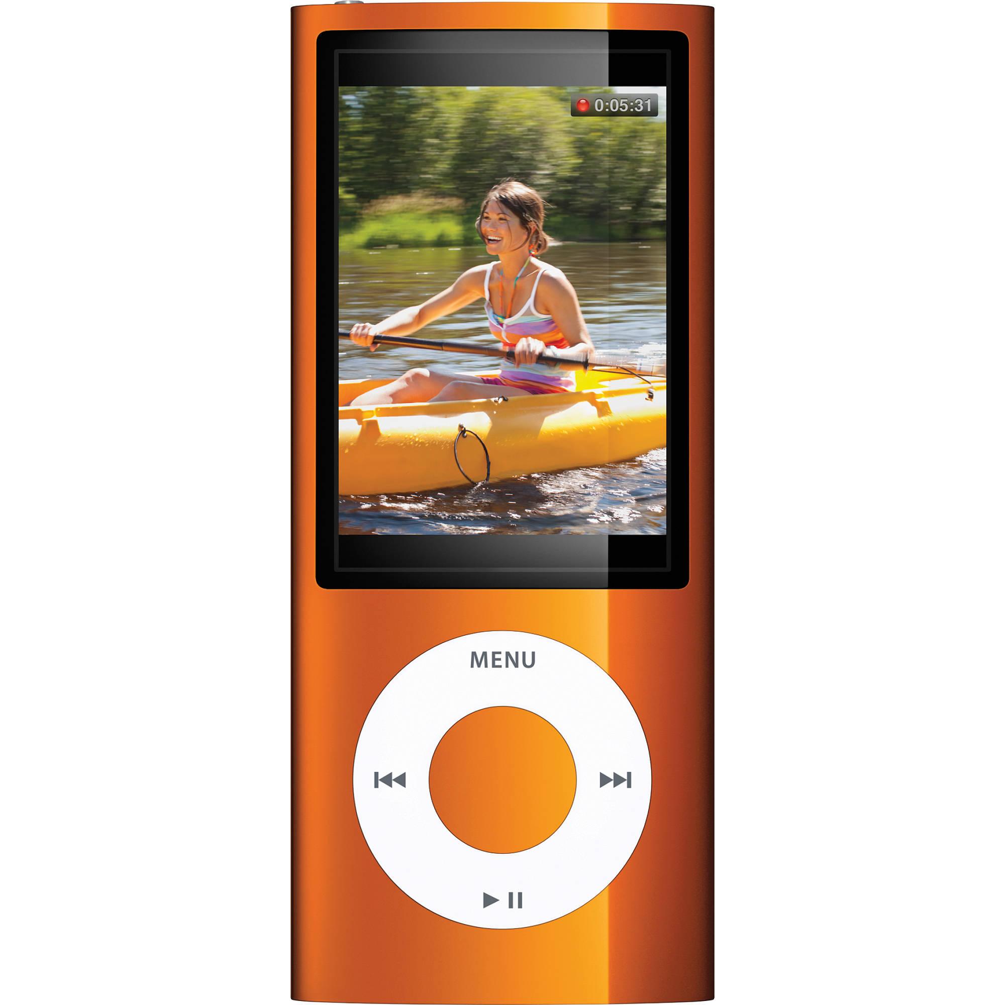 Apple [Refurbished] iPod nano 5th Generation (Orange ...
