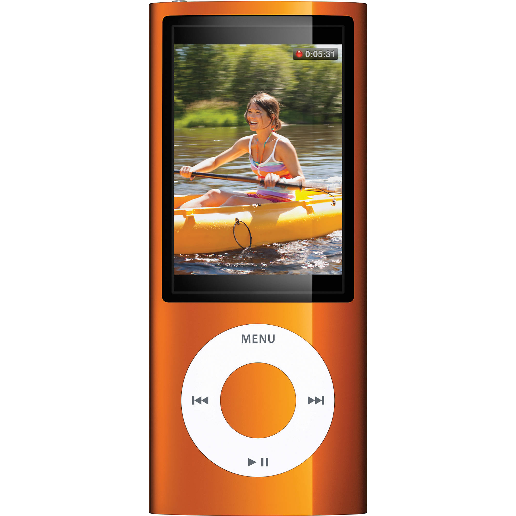 apple 8gb ipod nano orange mc046ll a b h photo video rh bhphotovideo com Apple iPod Nano 7th Generation iPod Nano 3rd