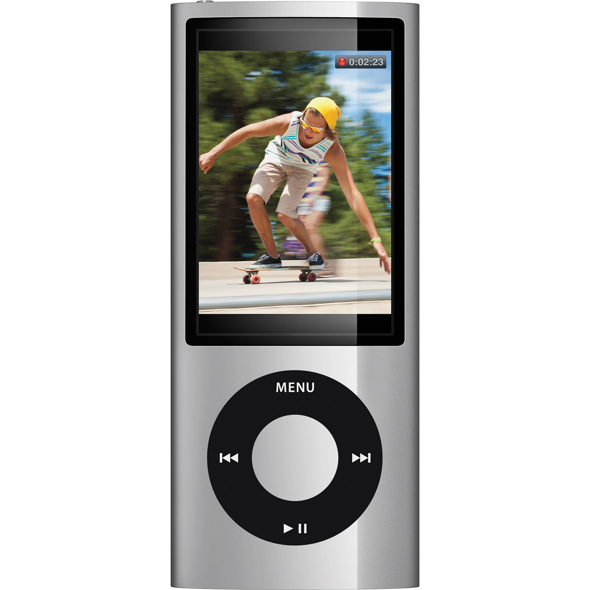 apple 16gb ipod nano silver mc060ll a b h photo video. Black Bedroom Furniture Sets. Home Design Ideas