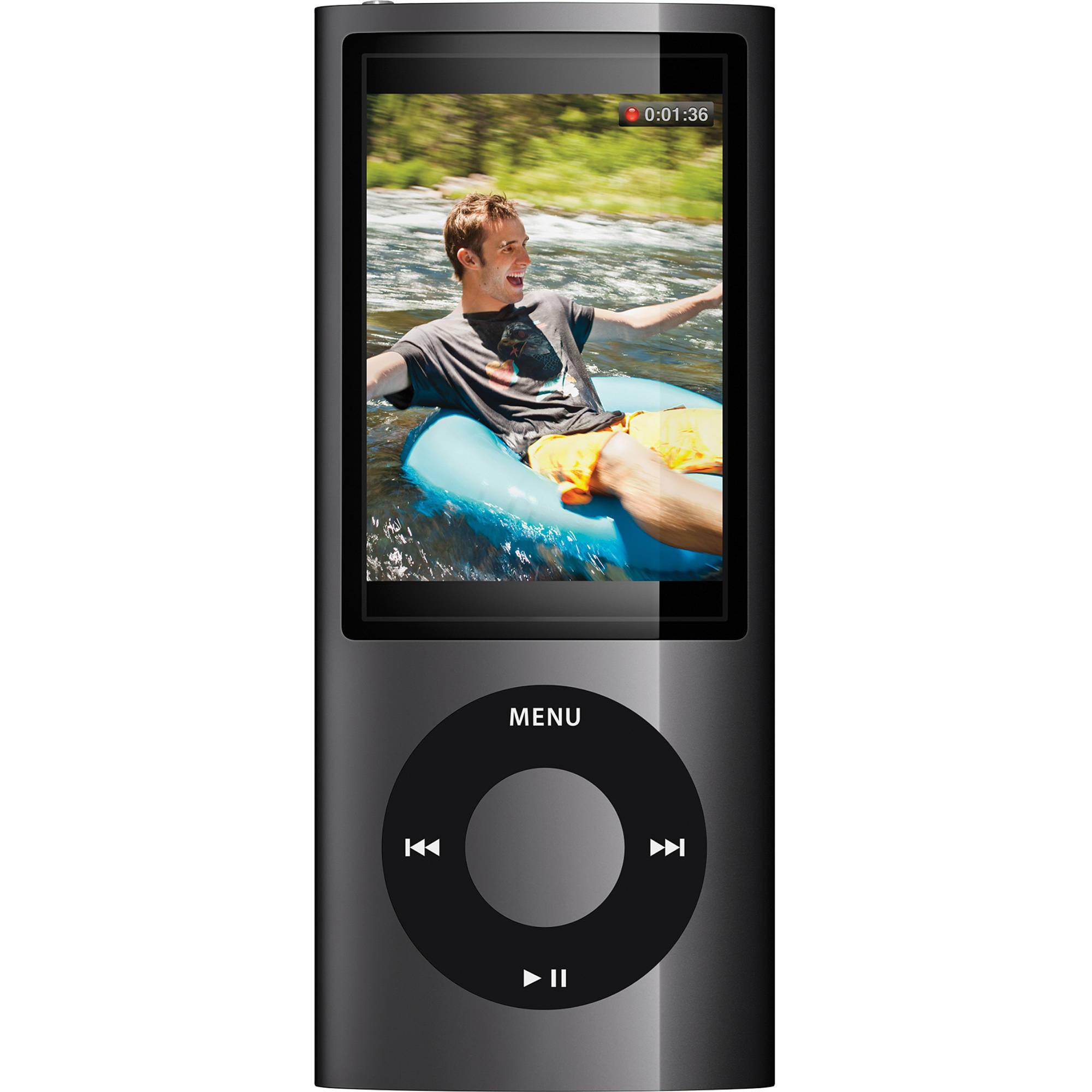 apple 16gb ipod nano black mc062ll a b h photo video. Black Bedroom Furniture Sets. Home Design Ideas