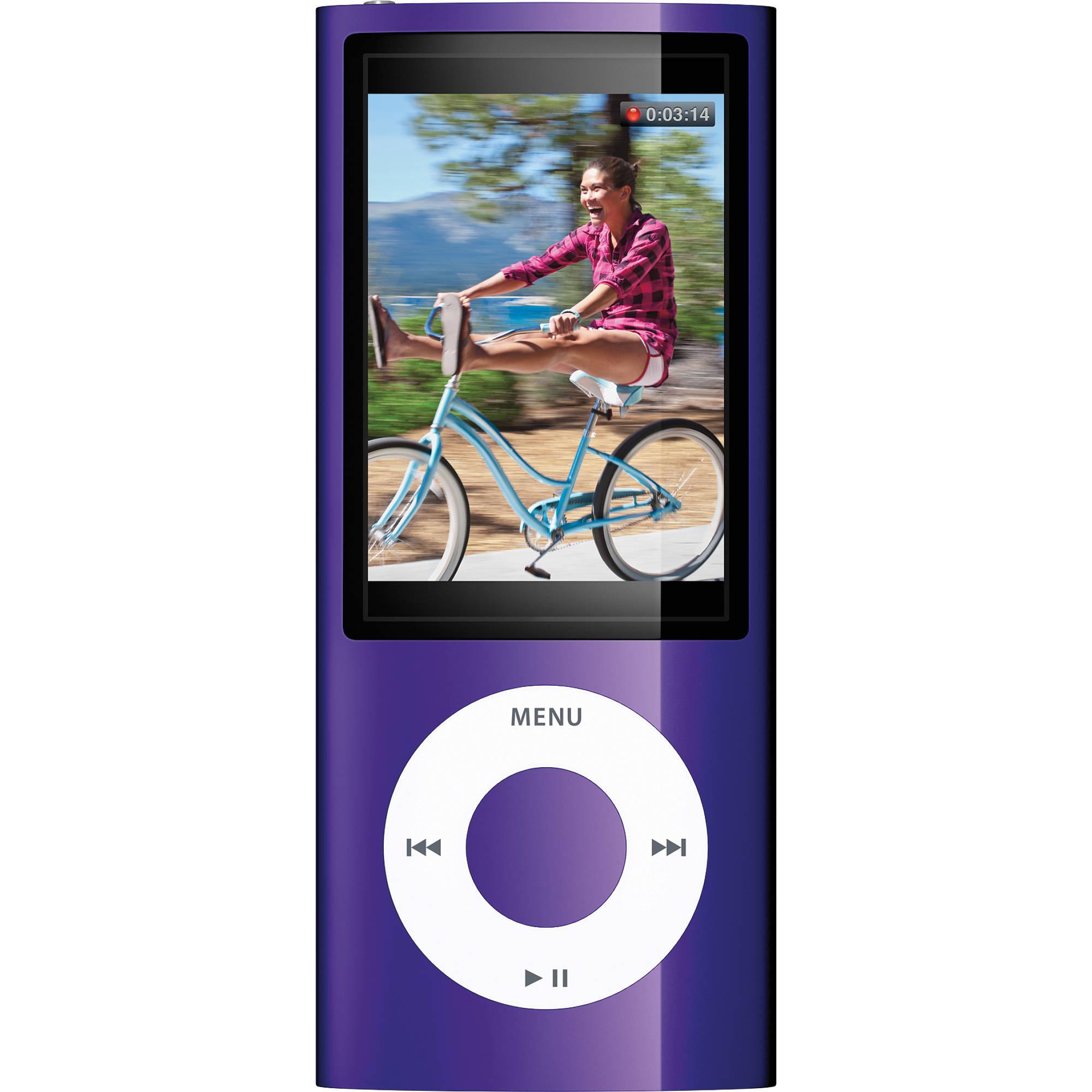 apple 16gb ipod nano purple mc064ll a b h photo video. Black Bedroom Furniture Sets. Home Design Ideas