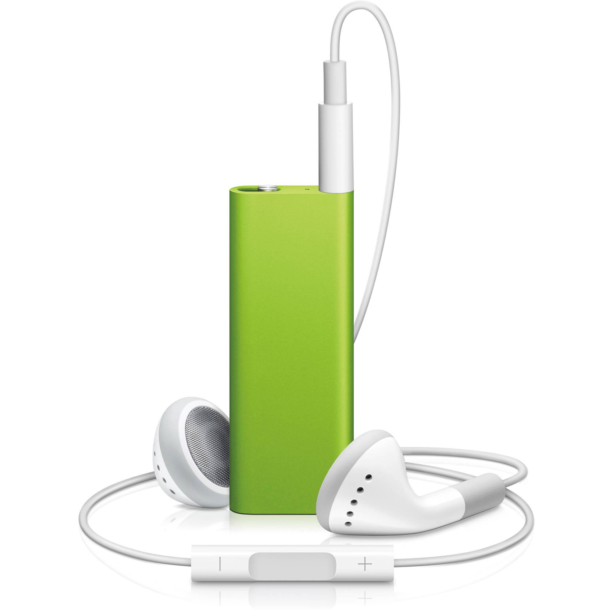 Apple 4GB iPod shuffle (Green) MC307LL/A B&H Photo Video