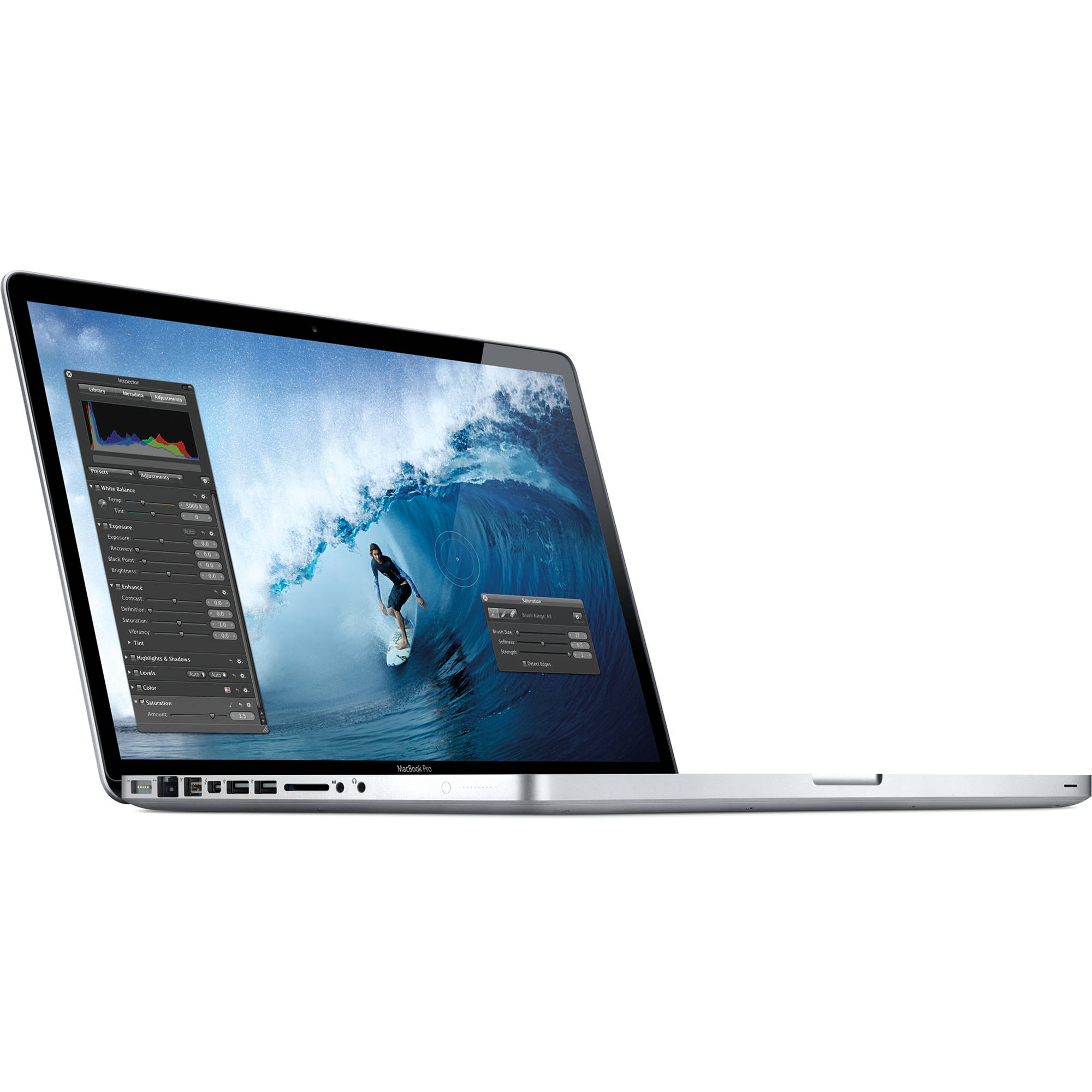 Apple 15 4 Quot Macbook Pro Notebook Computer Mc721ll A B Amp H