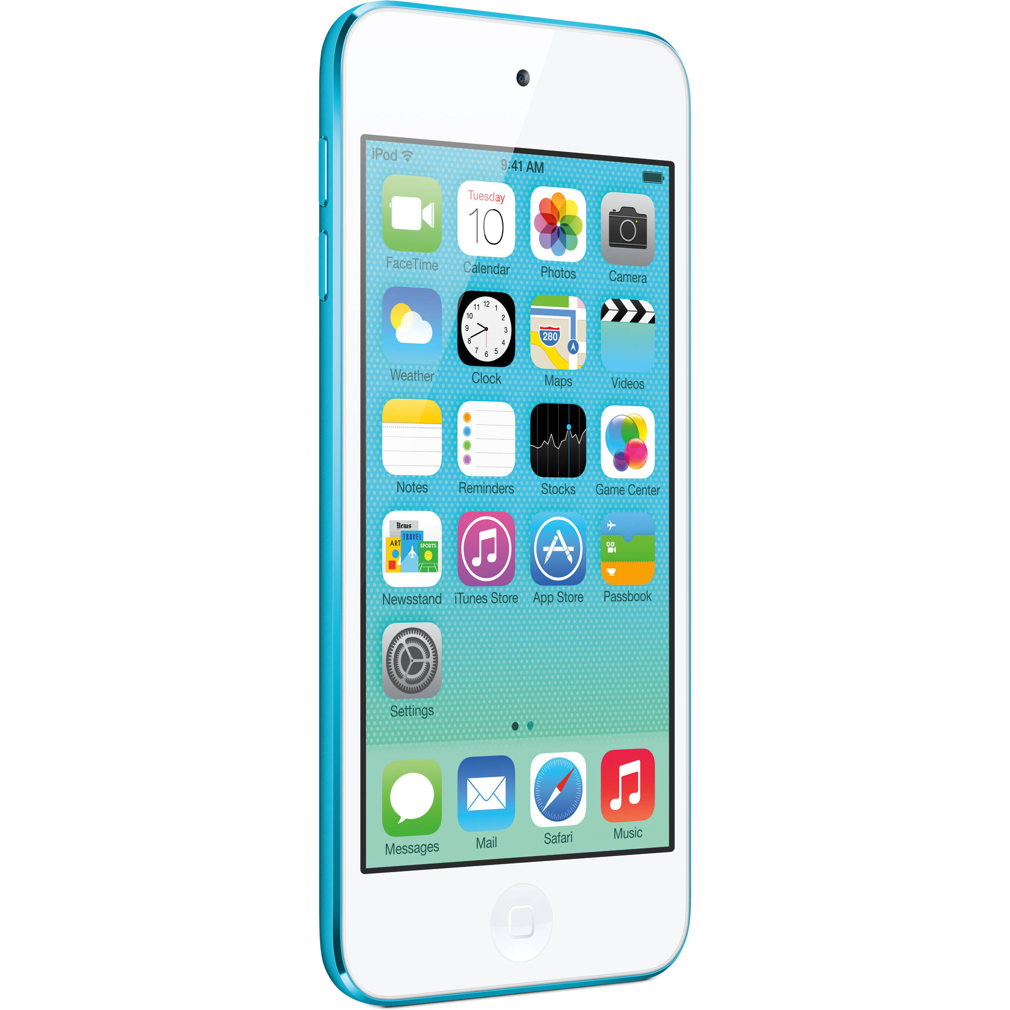 apple 32gb ipod touch blue 5th generation md717ll a b h rh bhphotovideo com iPod Touch 4th Generation Manual iPod Touch Getting Started