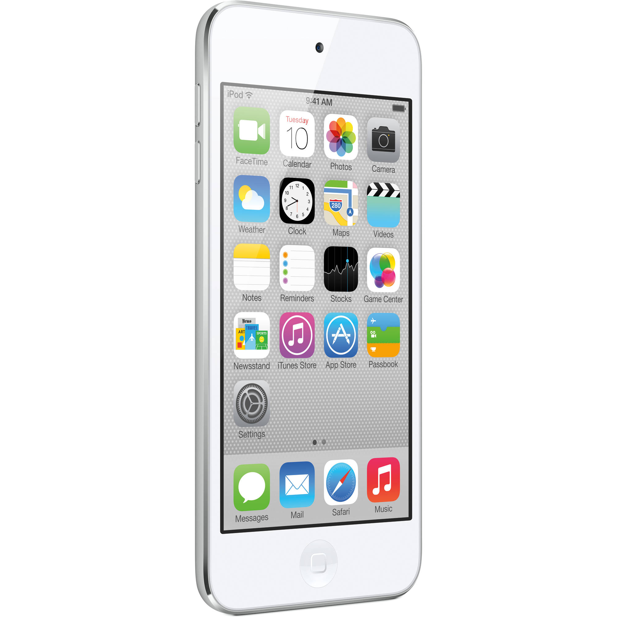 apple 64gb ipod touch white silver md721ll a b h photo. Black Bedroom Furniture Sets. Home Design Ideas
