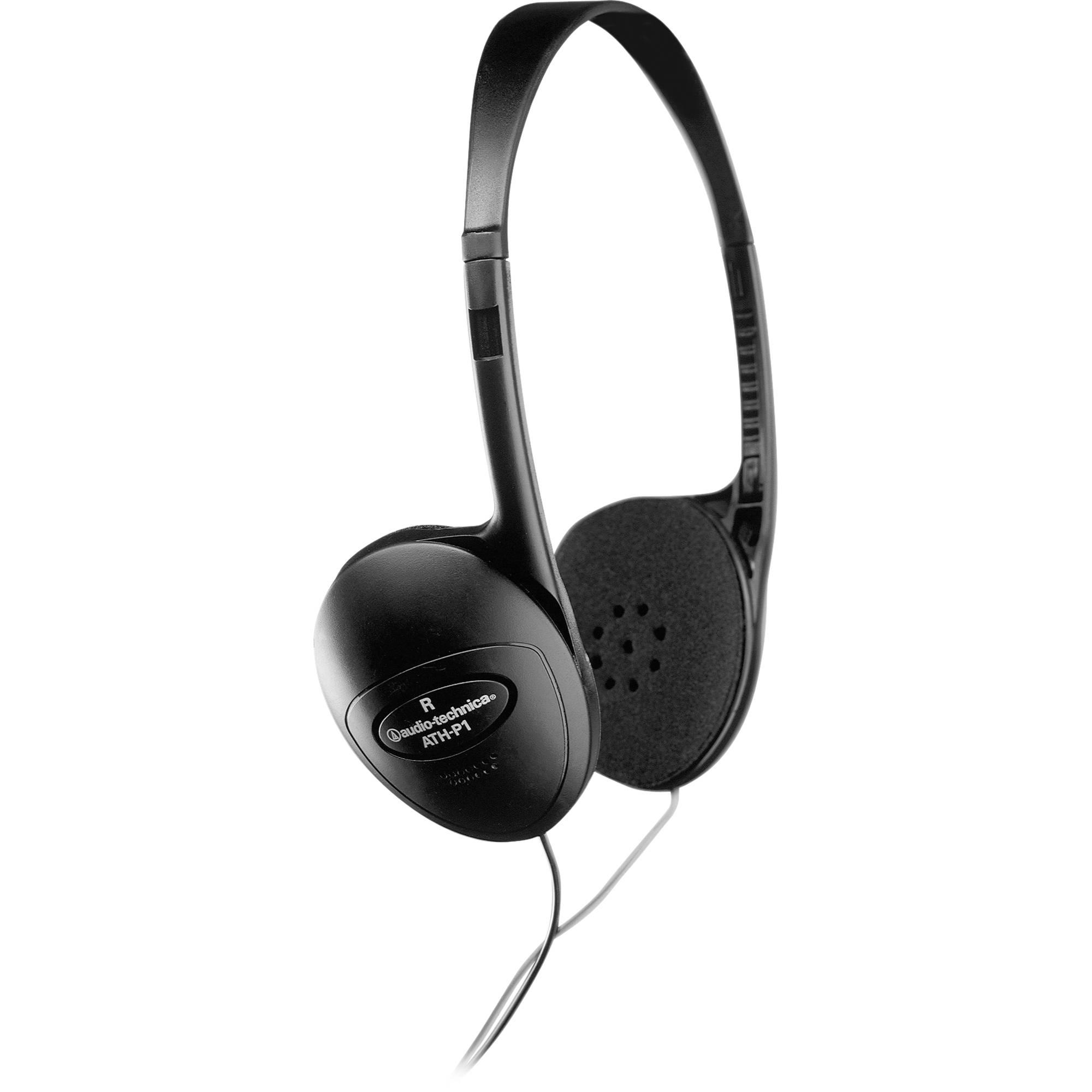 5a7b1418cf3 Audio-Technica ATH-P1 Headphone ATH-P1 B H Photo Video