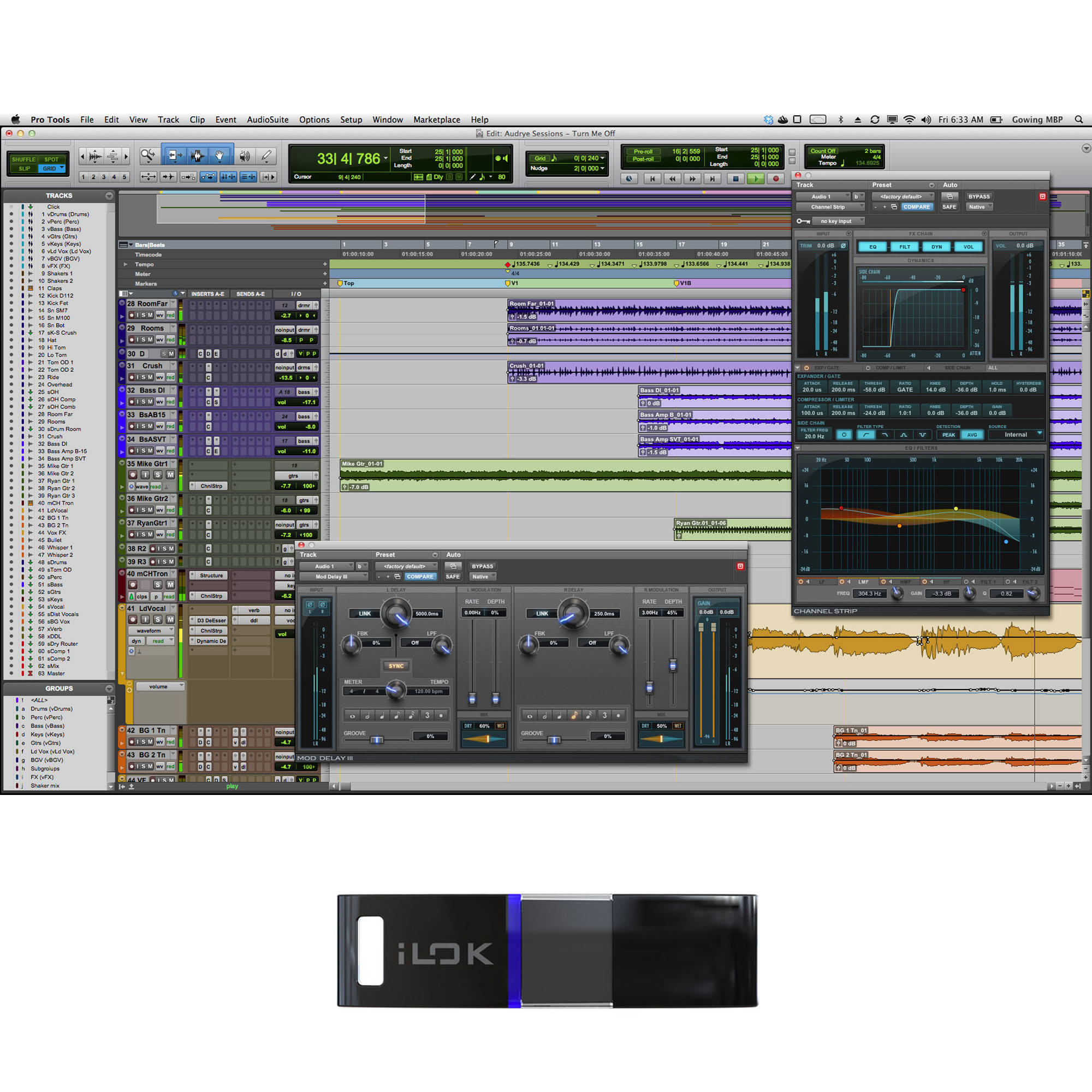 Avid Pro Tools 10 - Professional Audio Recording and 99006522000