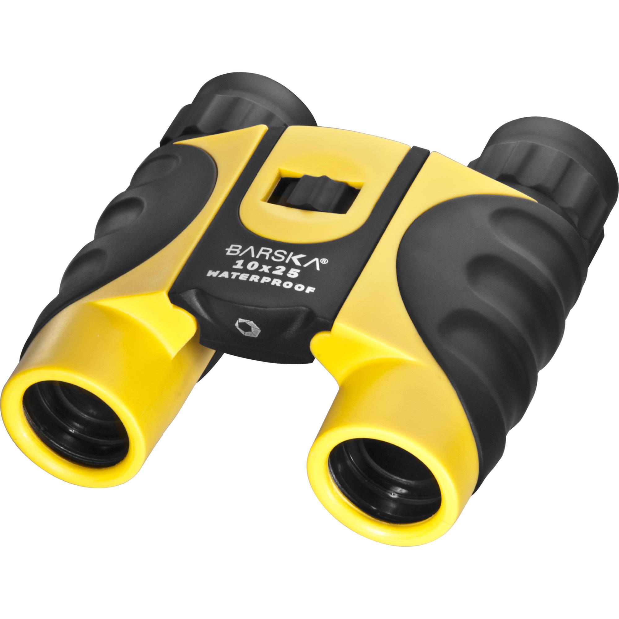 Barska 10x25 Colorado Waterproof Binocular Yellow