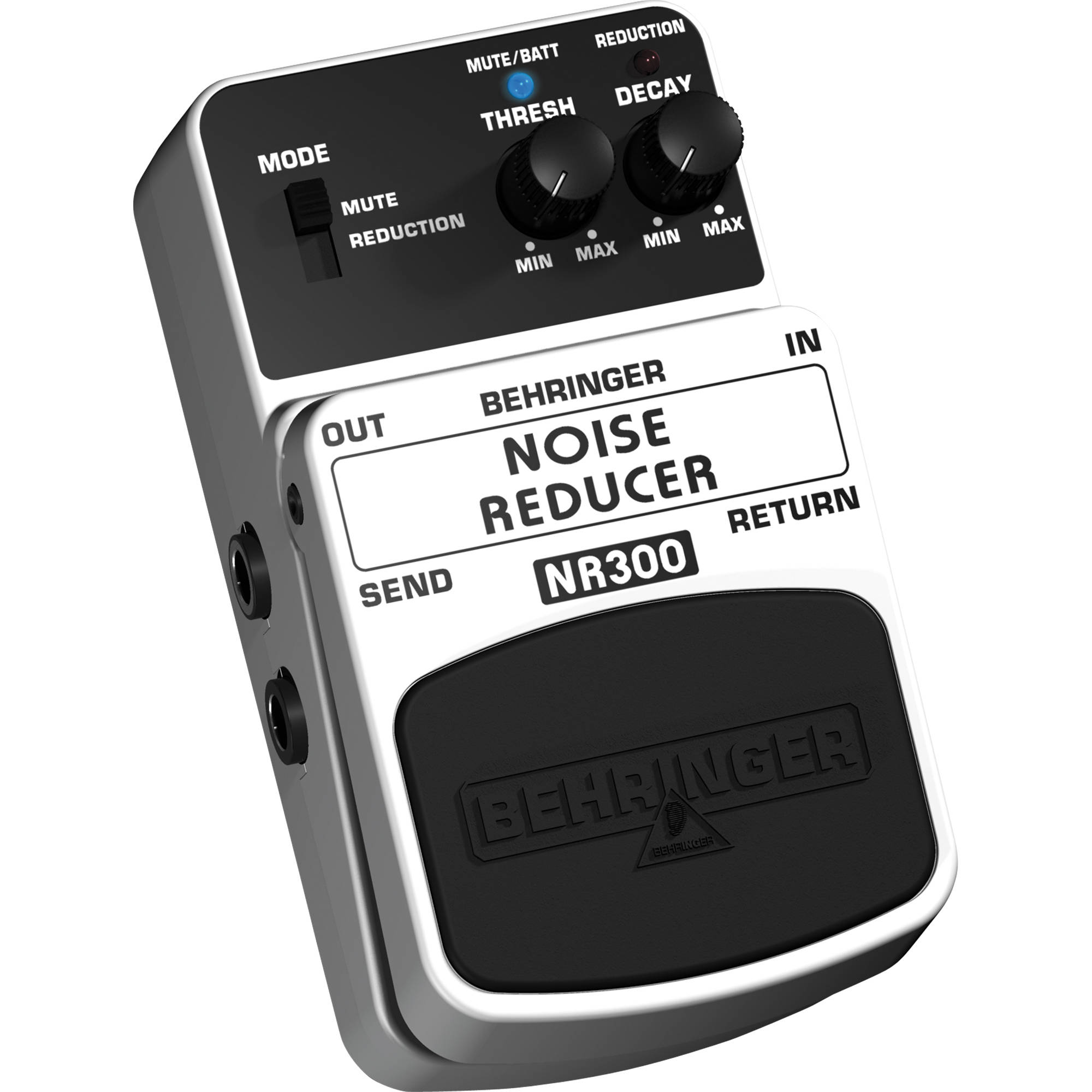 how to open behringer pedal battery