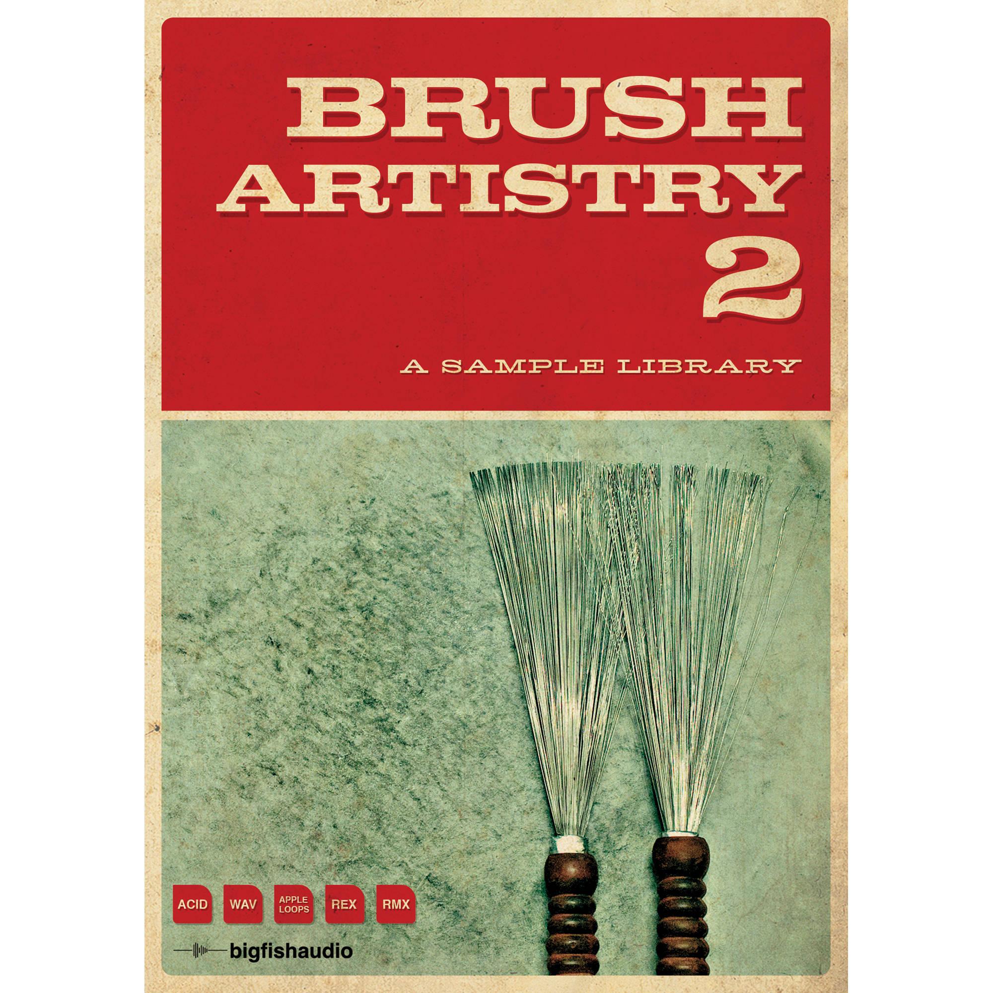 Big fish audio brush artistry 2 dvd brar2 orwxz b h photo for Big fish audio