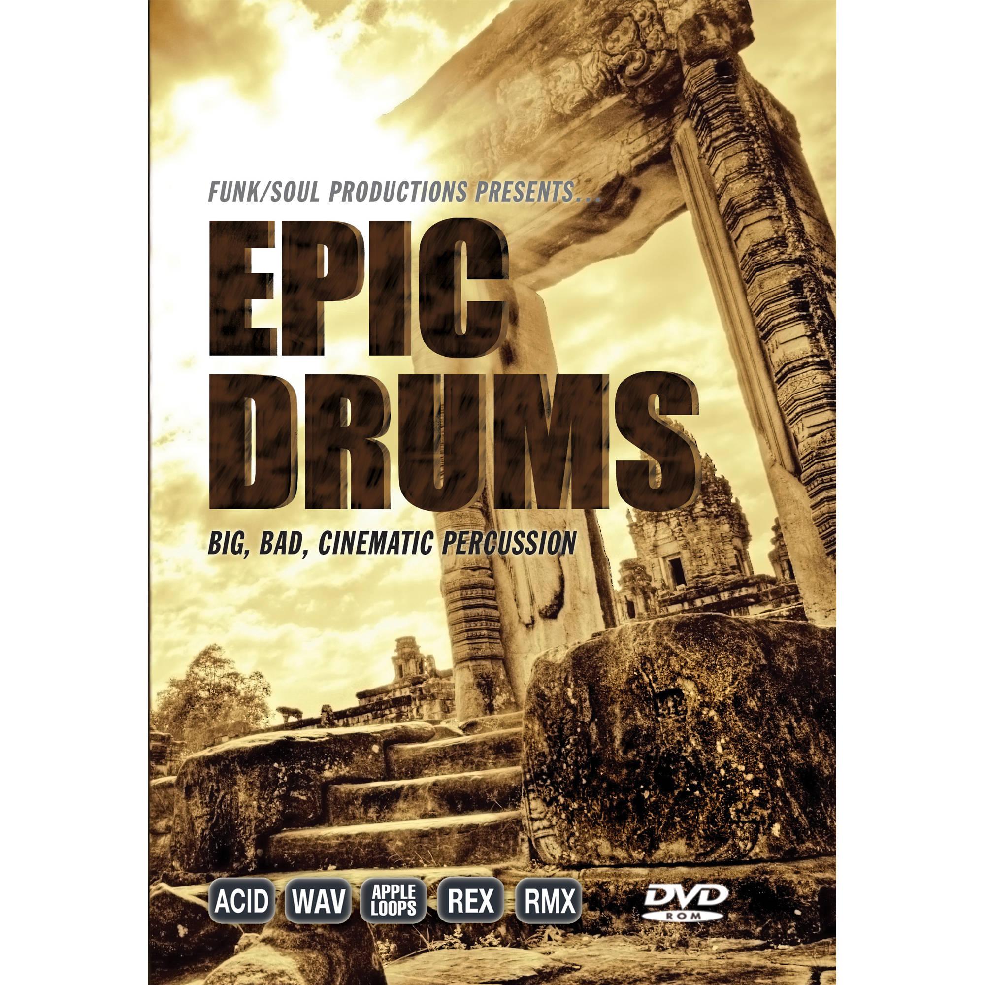Big fish audio epic drums dvd epdr1 orwxz b h photo video for Big fish audio