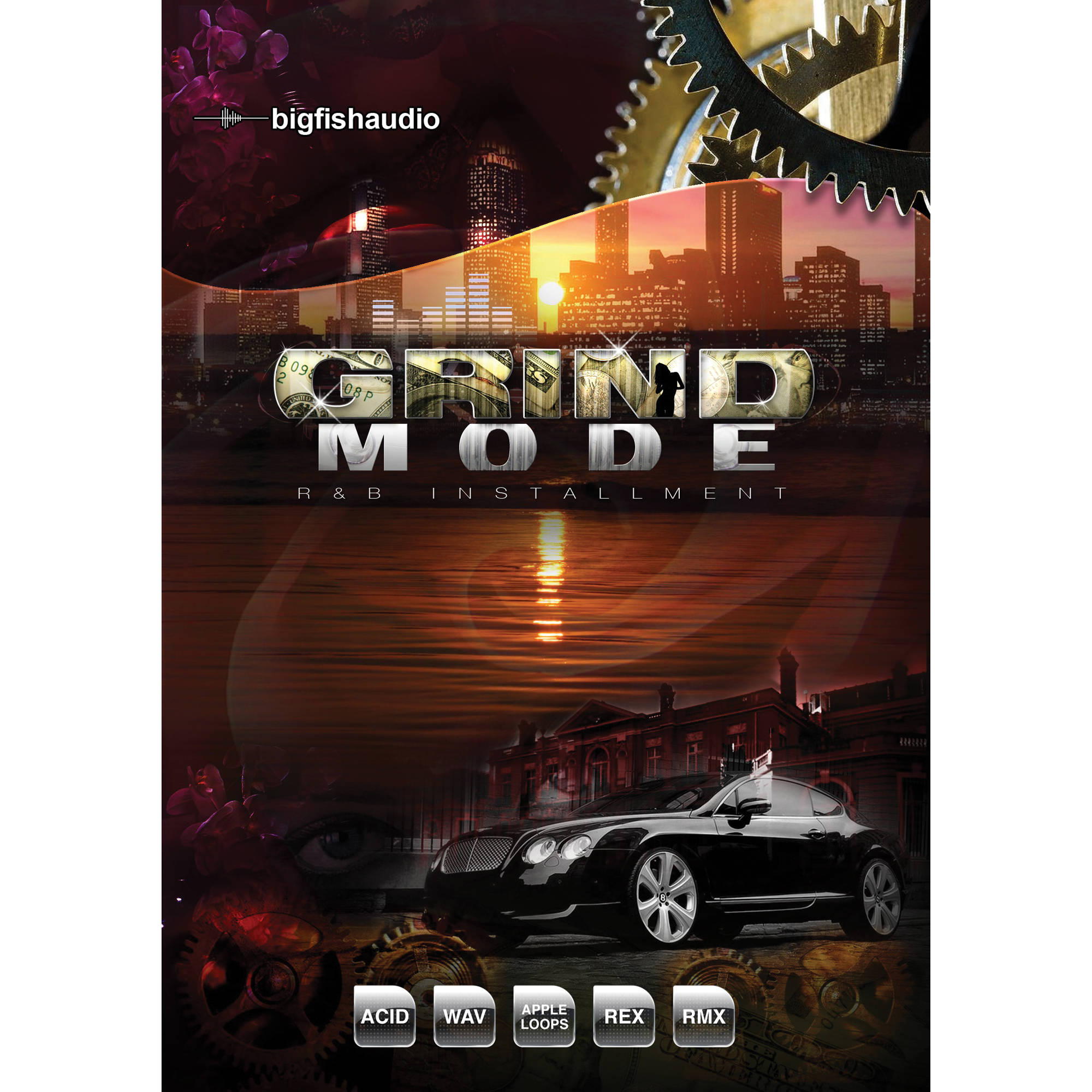 Big fish audio grind mode dvd grnd1 orwxz b h photo video for Big fish audio