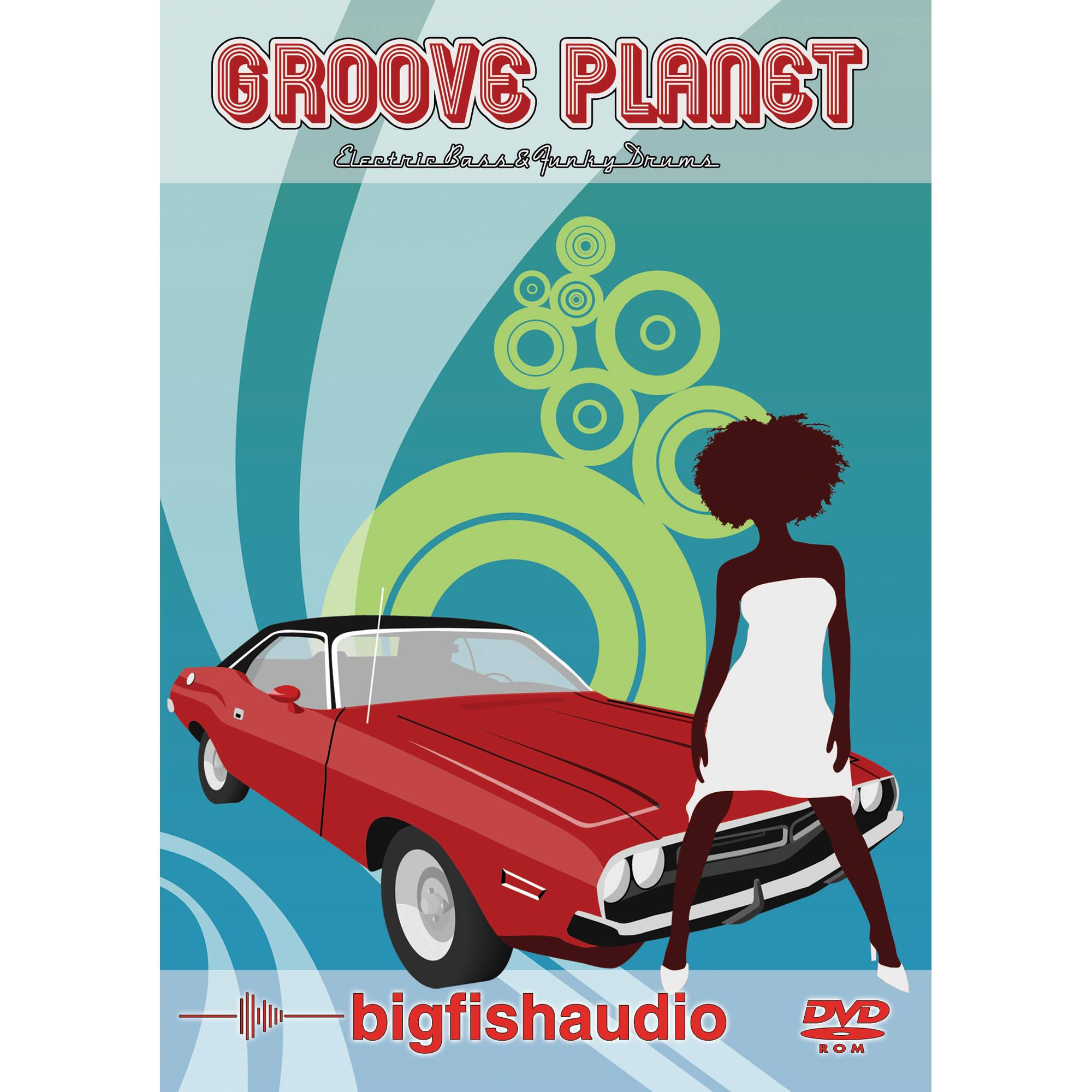Big fish audio groove planet dvd gvpt1 orwx b h photo video for Big fish audio