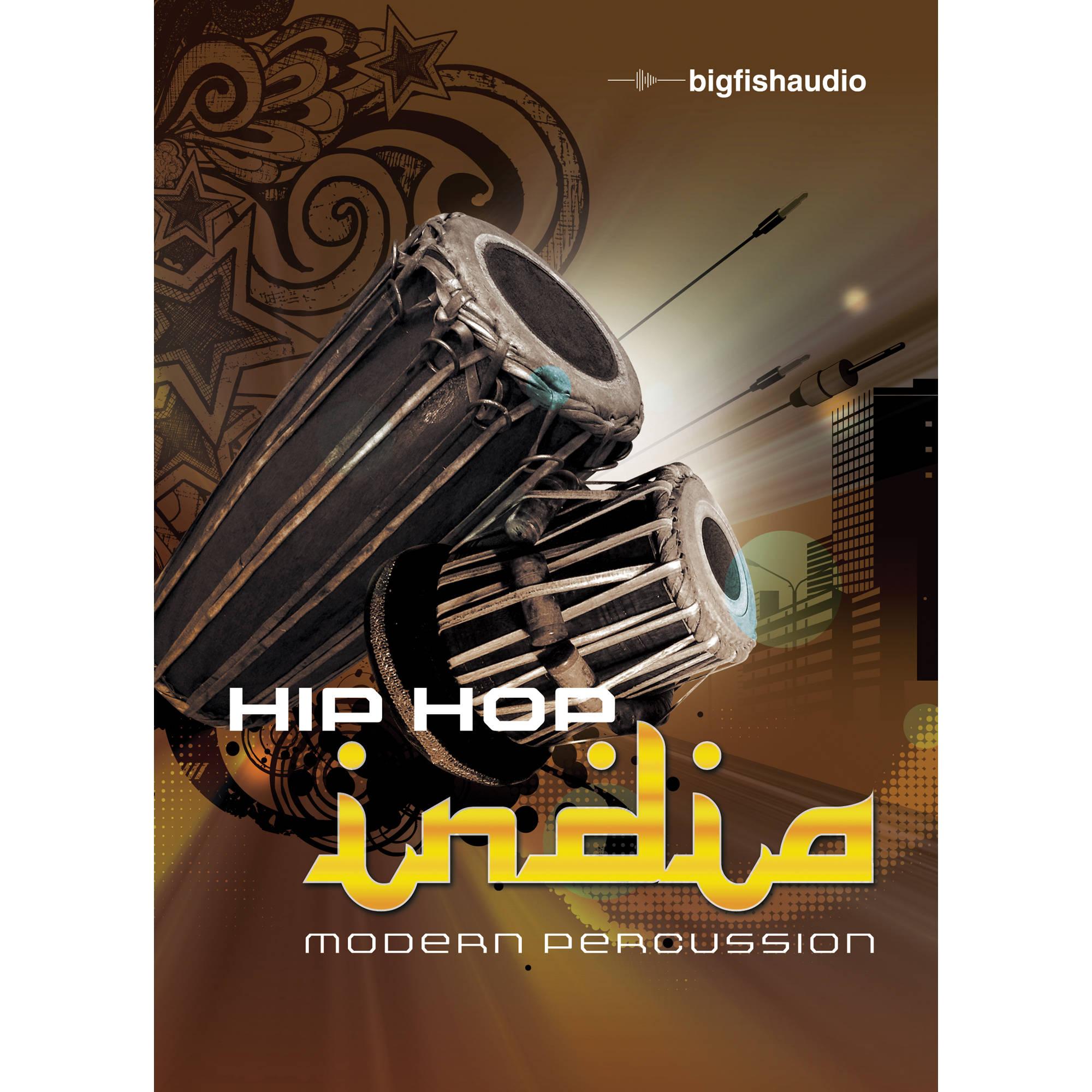Big fish audio hip hop india modern percussion dvd hhmp1 for Big fish audio
