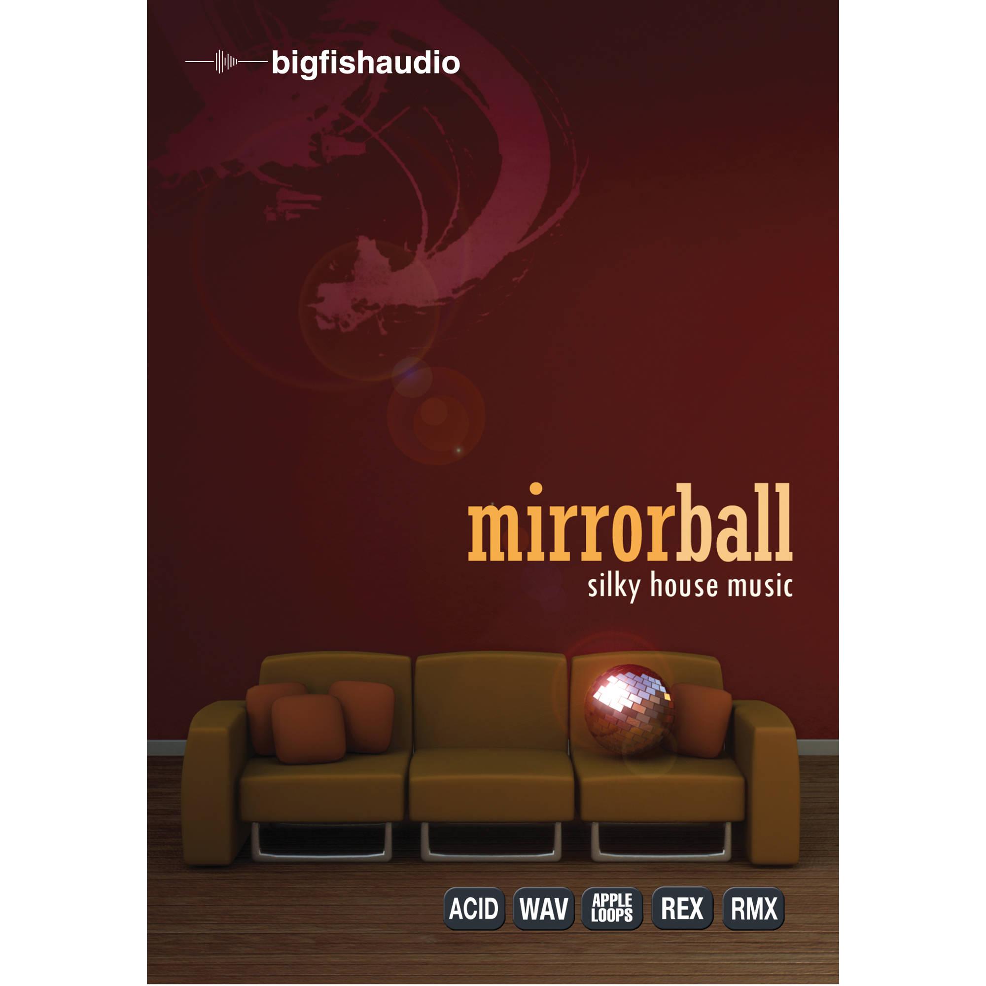Big fish audio mirrorball silky house music dvd mbsh1 for Big fish audio