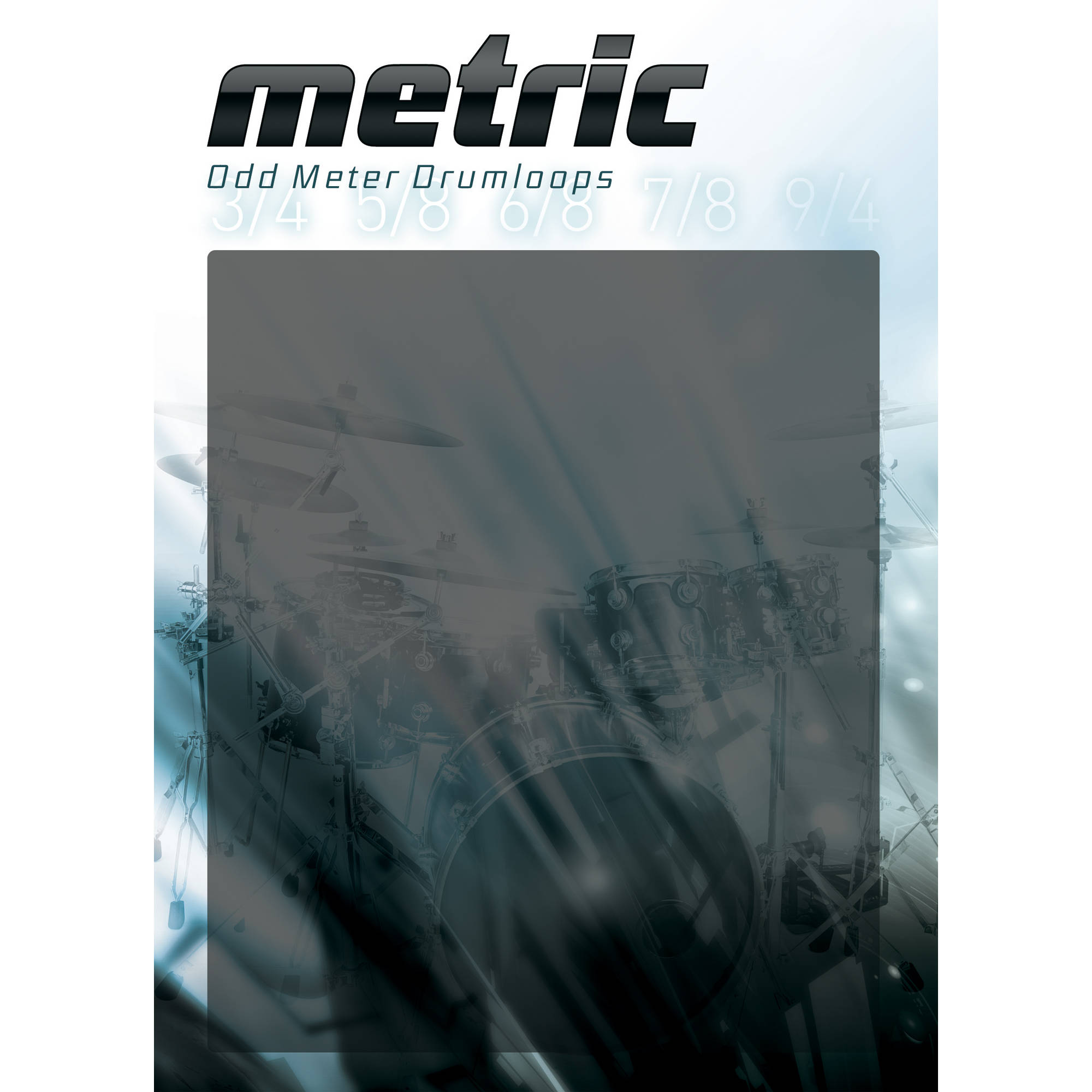 Big fish audio metric odd meter drumloops multiformat dvdr airiso