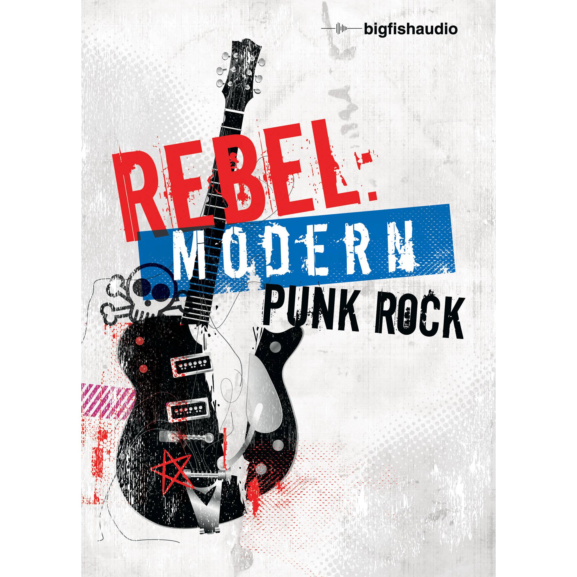 Big fish audio rebel modern punk rock dvd rmpr1 orwxz b h for Big fish audio