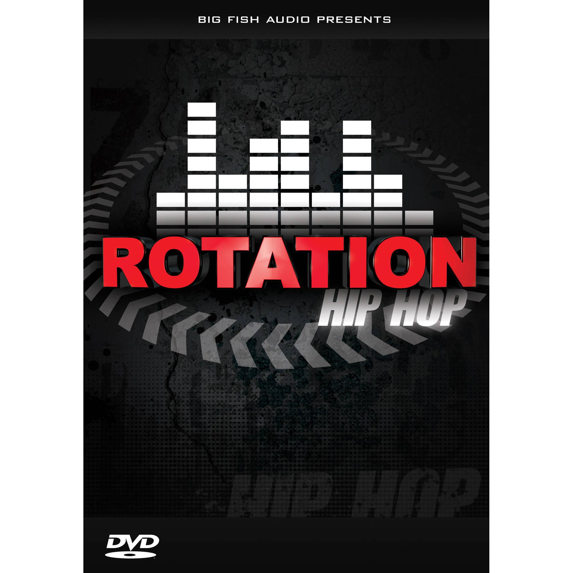 Big fish audio rotation hip hop dvd rota1 orwxz b h photo for Big fish audio