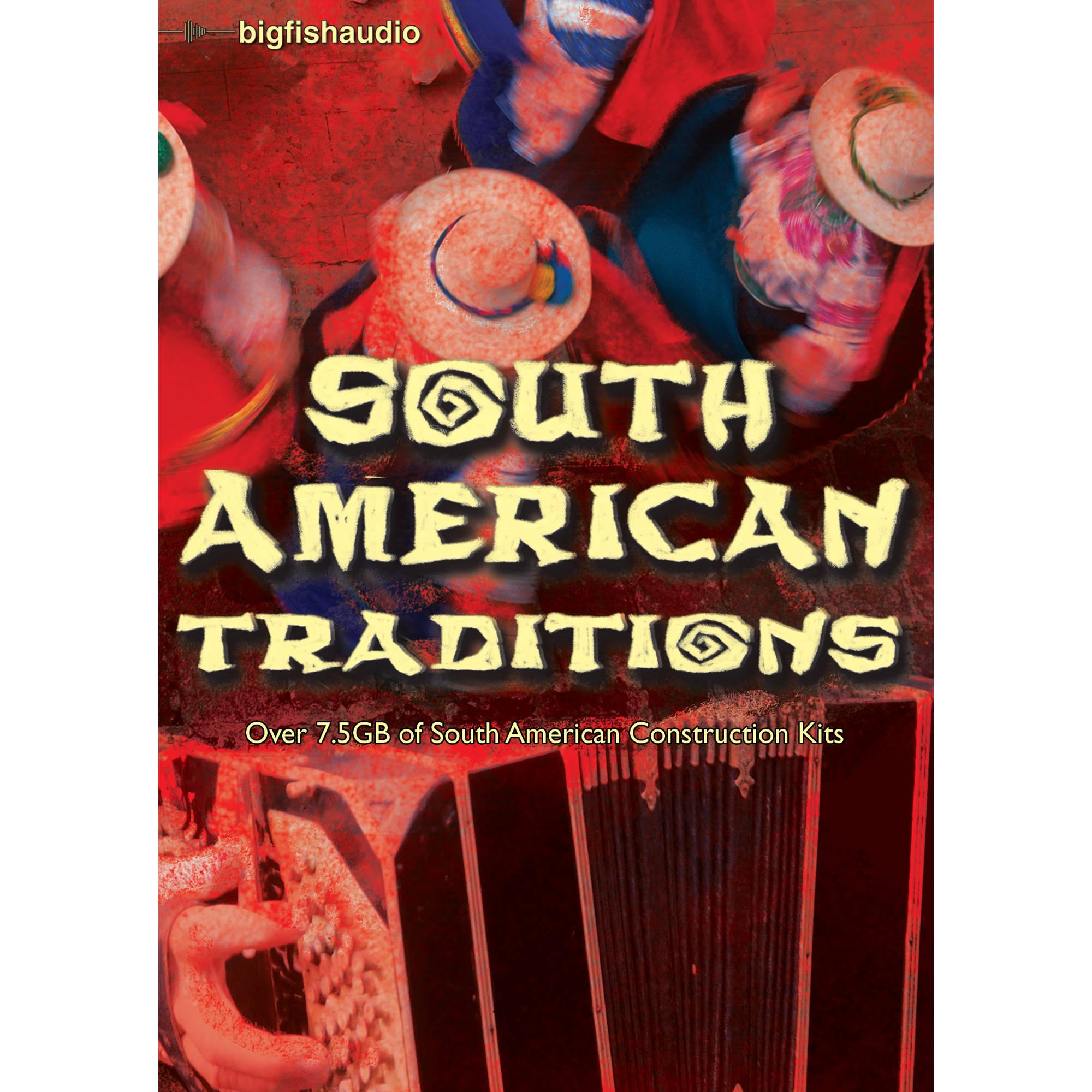 Big Fish Audio South American Traditions DVD SAT01-ORWX B&H